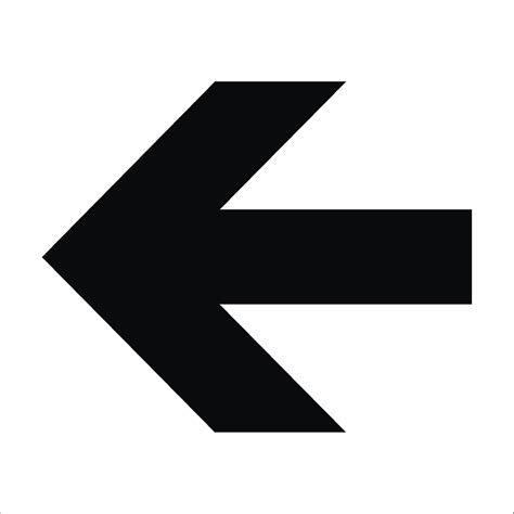The Sign Black black arrow sign raymac signs