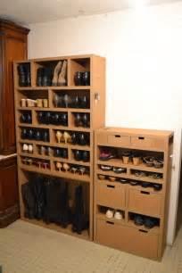 Impressionnant Meuble Chaussure En Carton #4: 87ac68fc0f37be187f0071c321642c52--cardboard-wardrobe-cardboard-shoe-rack.jpg