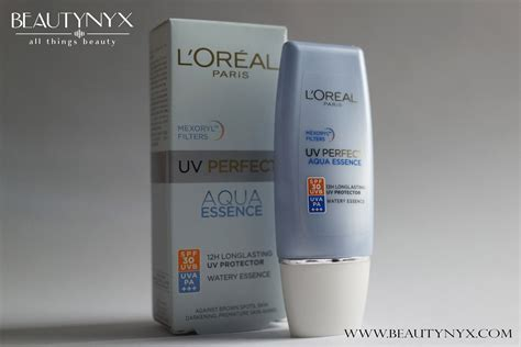 L Oreal Uv Aqua Essence l oreal uv aqua essence review
