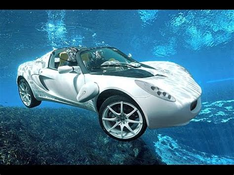 world s first underwater car amazing transport modes