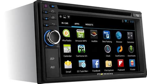 din android rydeen dva6 6 2 quot din dvd cd gps mp3 android usb aux bluetooth navigation ebay