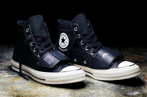 Sepatu All Converse Kulit motor sepatu converse all khusus biker