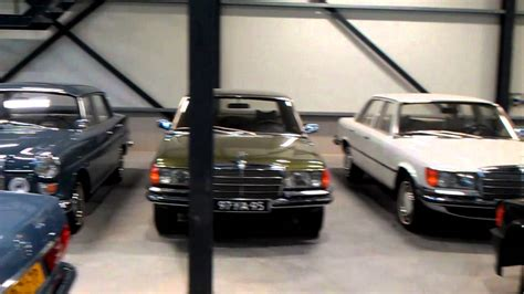 mercedes collection impression of a part of the largest mercedes collection in