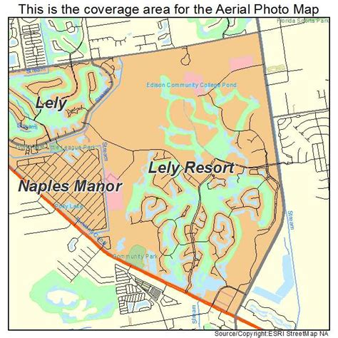 florida resort map aerial photography map of lely resort fl florida