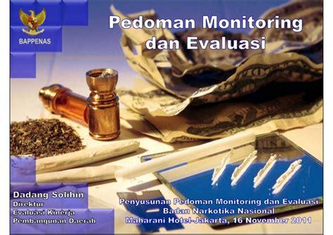 Acuan Semprit No 116 pedoman monitoring dan evaluasi
