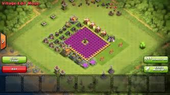 Clash of clans th7 trophy base base coc th 6 terkuat gambar hd