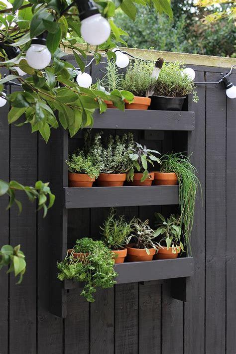 Vertical Garden Decoration Ideas by 25 Best Ideas About Garden Shelves On