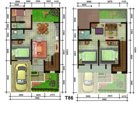 gambar sketsa denah desain rumah sederhana 2 lantai 1000 gambar model desain rumah minimalis anda