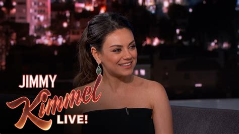jimmy kimmel hair styles jimmy kimmel hair styles mila kunis on leaving her new