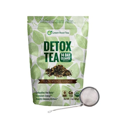 Herbs To Detox by Organic Detox Tea Green Herbal Cleanse Teatox Infuser