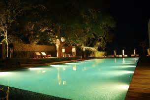 Lighting Landscape Design Impressive Swimming Pool Lights Pool Lighting Ideas And Design