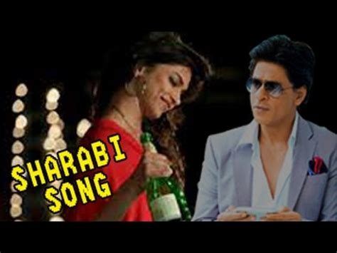 happy new year shahrukh khan songs sharabi happy new year song ft shahrukh khan deepika padukone releases news