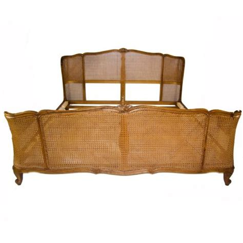 cane beds rare 6 wide french cane bed 189968 sellingantiques co uk