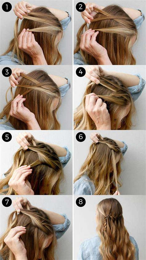down hairstyles for long straight hair 31 amazing half up half down hairstyles for long hair