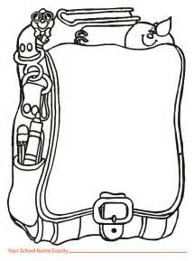 Backpack Template by Backpack Templates Clipart 27