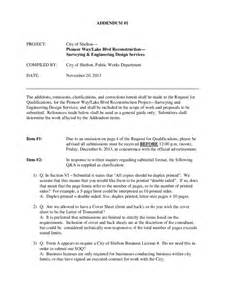 Addendum Template by Contract Addendum Template 2 Free Templates In Pdf Word