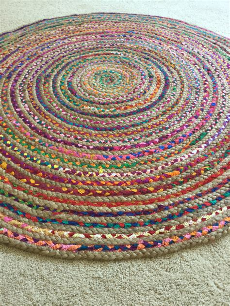 Area Rag Rugs Rag Rug Boho Chic Hippie Area Rug Vegan By Yourgreateststory