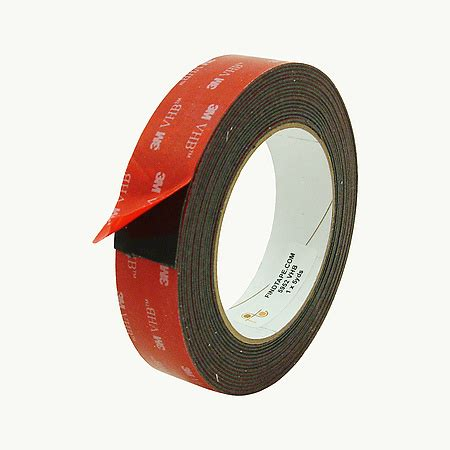 Murah 3m Vhb Heavy Duty Mounting 5952 Black 1 In X 33 M findtape product images for 3m scotch 5952 vhb