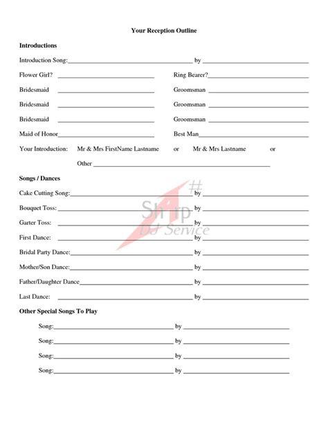 wedding ceremony outline examples wedding ceremony outline calis wedding pinterest