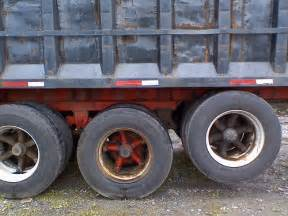 Wheels On Dump Truck Black Dump Wheels On A Mack Truck Flickr