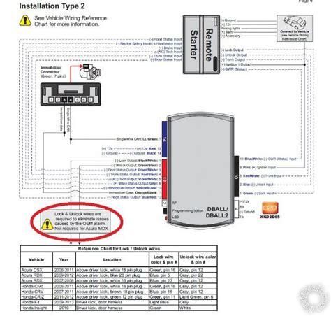 dball2 viper remote start wiring diagram avital keyless
