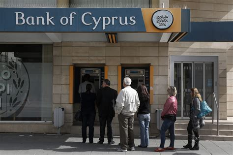 bank march cyprus banks limits atm withdrawals to 100 euros per day