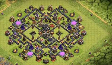 layout coc base war th9 16 th7 to th11 farming trophy war base layouts for june