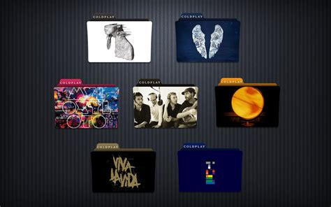 coldplay x y rar coldplay folder icon pack by jesusofsuburbiatr on deviantart
