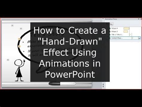 how to create doodle presentation how to create that effect in powerpoint