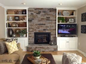 Bookshelves Next To Fireplace 17 Best Ideas About Bookshelves Around Fireplace On