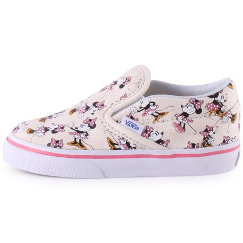 disney sneakers for toddlers vans toddler disney minnie canvas trainers in