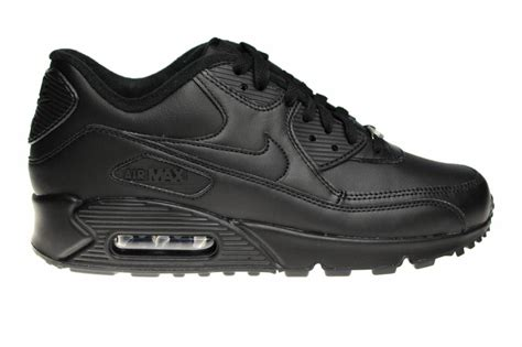 Nike Airmax90 001 nike air max 90 leather 302519 001 all leather black