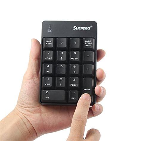 Diskon Keyboard Mini Numeric numeric keypad sunreed size 18 wireless mini usb number pad keyboard with 2 4g