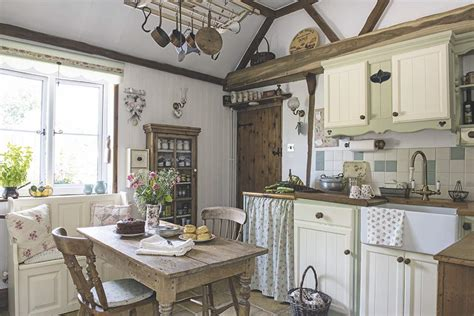 country cottage kitchen a thatched cottage with an intriguing past period living