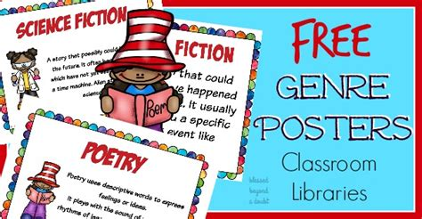 printable drama genre poster free reading genre posters for classroom and homeschool