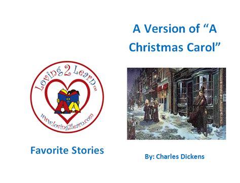 Printable Version Of A Christmas Carol | children s favorite stories a christmas carol printable