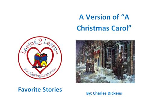 printable version christmas carol children s favorite stories a christmas carol printable