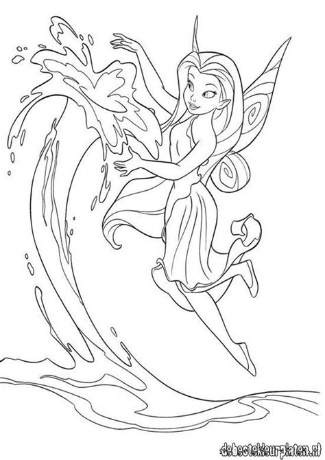 tinkerbell friends coloring pages coloring home