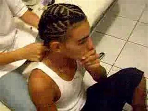 puerto rican ponytail for men braids youtube