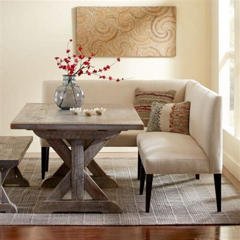 dining room banquette bench eco linen sectional settee dining banquette banquettes