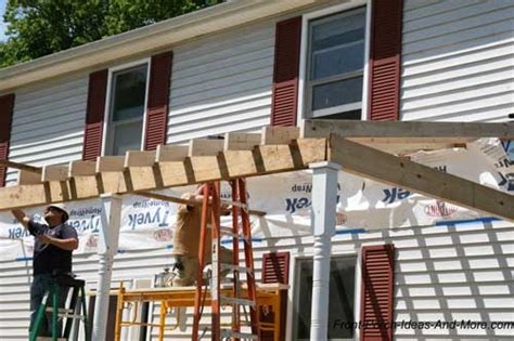 how to build a porch build a front porch front porch addition building plans for a patio roof find house plans