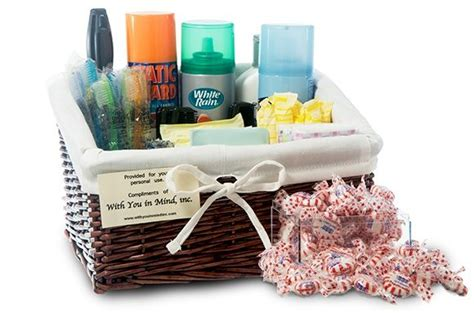 bathroom amenity baskets emergencies happen to the guests too having our amenity