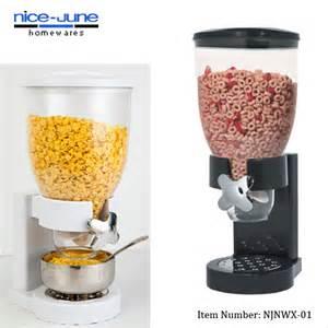 plastic bulk food dispenser countertop dual and single