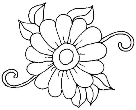 Schablone Für Arbeitsplatten by Ausmalbilder Blumen Zum Ausdrucken 01 Blumen
