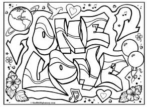 graffiti coloring book free coloring pages of graffiti