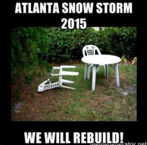 Atlanta Snow Meme - 2015 jokes kappit