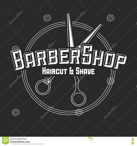 hairdresser retro design elements vector vector vintage badge sticker sign with barber shop pole