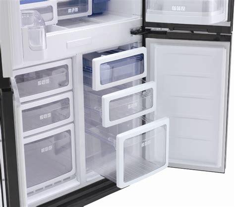 Freezer Sharp buy sharp sjfs810vbk multi door american fridge freezer