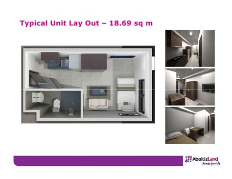 Kitchen Cabinet Range Hood Design The Persimmon Studios Condo In Cebu