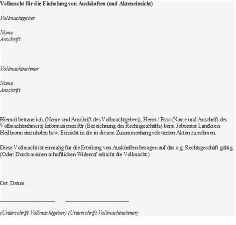 Vollmacht Schreiben Muster Jobcenter Jobcenter Landkreis Heilbronn Zus 228 Tzliche Infos F 252 R Fl 252 Chtlinge